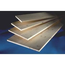 Cheshire Mouldings Timberboard 18mm - 2350 x 250